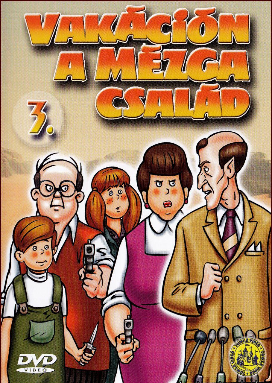 Vakáción a Mézga család 3. (DVD)