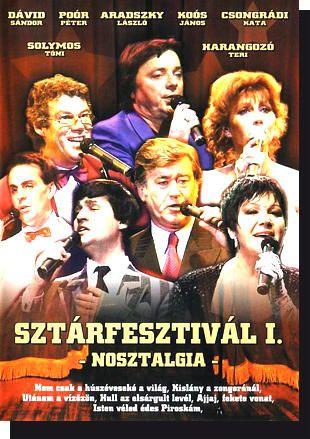 Sztárfesztivál I.: Nosztalgia DVD