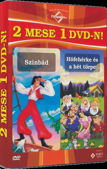 Szinbád. Hófehérke és a hét törpe. 2 mese 1 DVD-n! (DVD)