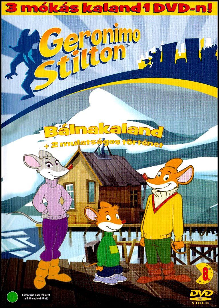 Geronimo Stilton Bálnakaland (DVD)