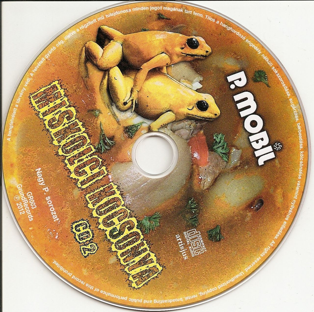 P. Mobil: Miskolci Kocsonya (CD)
