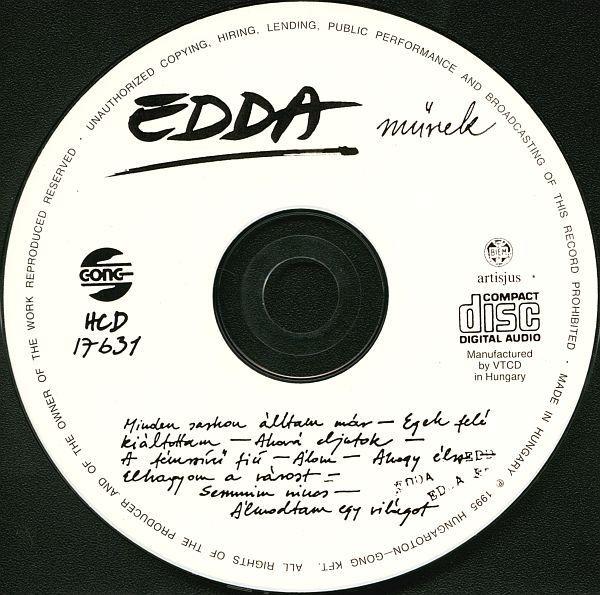 Edda művek: Edda művek (CD)