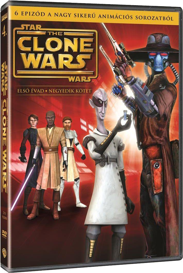 Star Wars: A klónok háborúja - 1. évad, 4. kötet (DVD)
