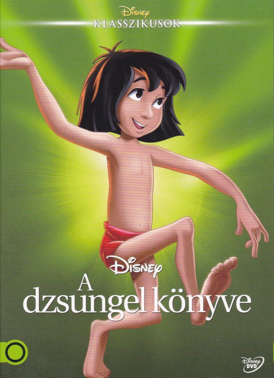 Disney: A dzsungel könyve (DVD)