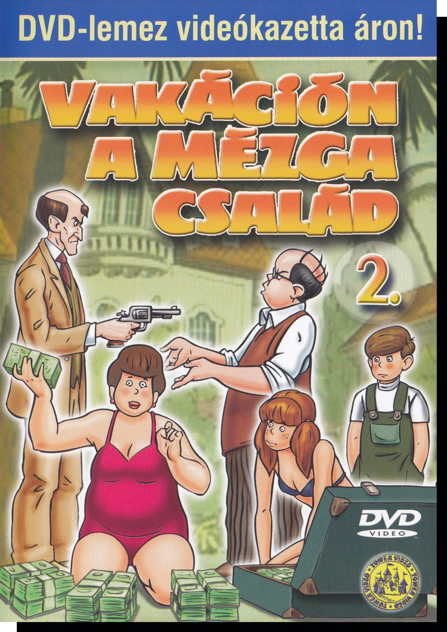 Vakáción a Mézga család 2. (DVD)