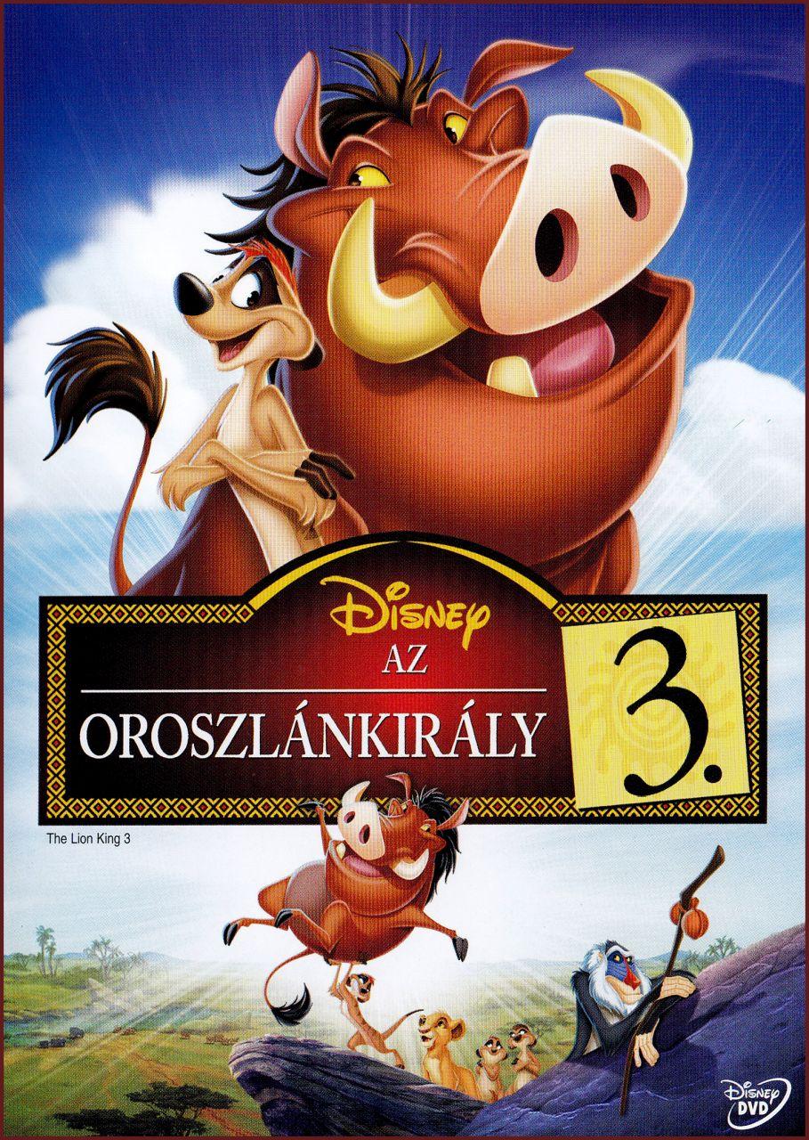 Oroszlánkirály 3. (DVD)
