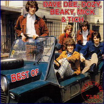 Dave Dee, Dozy, Baeky, Mick & Tich: Best of... (CD)