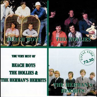 Beach Boys, The Hollies & The Herman's Hermits (CD)
