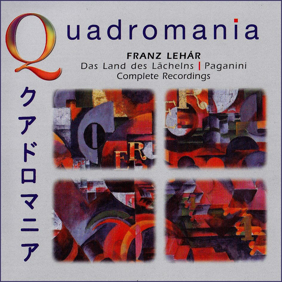 Franz Léhar: Das Land des Lachelns, Paganini (4CD)