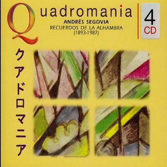 Andres Segovia: Recuerdos De La Alhambra (4CD)