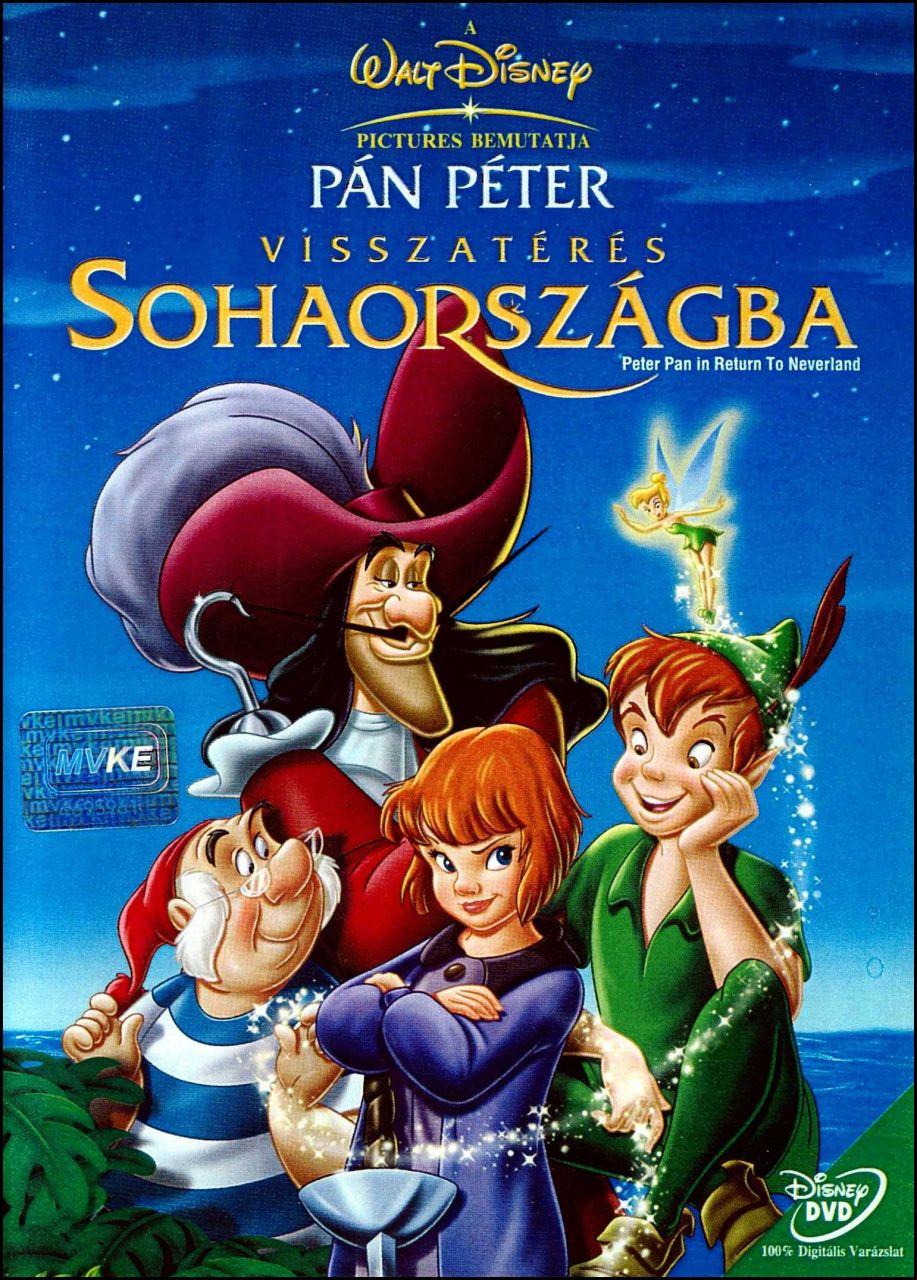 Pán Péter: Visszatérés Sohaországba (DVD)