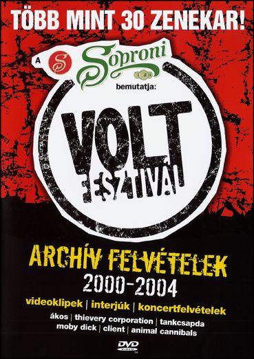 Volt Fesztivál: Archív felvételek 2000-2004 (DVD)