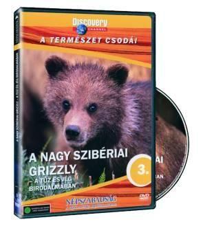A nagy szibériai grizzly: A tűz és jég birodalmában (DVD)