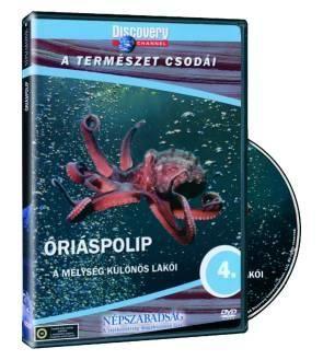 Óriáspolip: A mélység különös lakói (DVD)