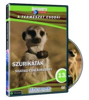 Szurikáták: Sivatagi családregény (DVD)