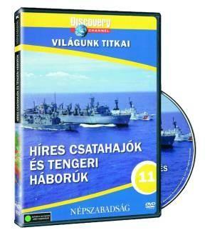 Híres csatahajók és tengeri háborúk DVD