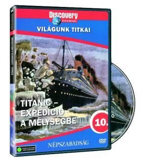 Titanic: Expedíció a mélységbe DVD