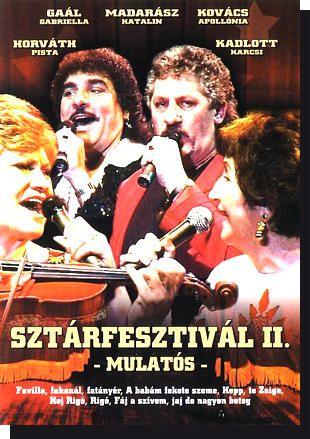 Sztárfesztivál II.: Mulatós DVD