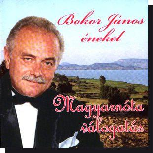 Bokor János: Magyarnóta válogatás (CD)