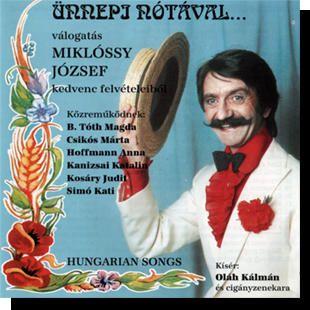 Miklóssy József: Ünnepi nótával CD