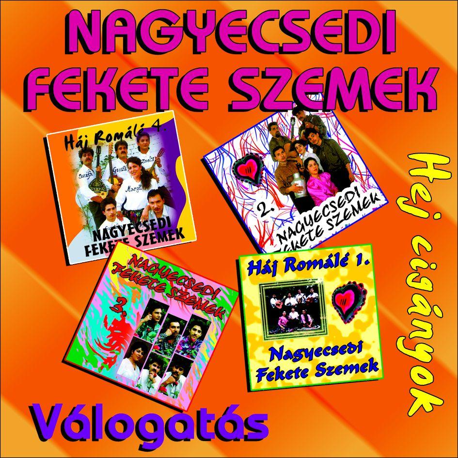 Bódi Guszti és a Nagyecsedi Fekete Szemek válogatás (CD)