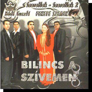 Bódi Guszti-Nagyecsedi: Bilincs a szívemen CD