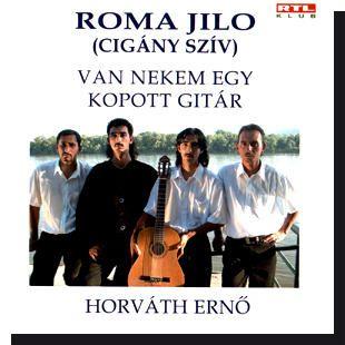 Roma Jilo: Van nekem egy kopott gitár (CD)