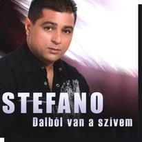Stefano: Dalból van a szívem 2009 CD