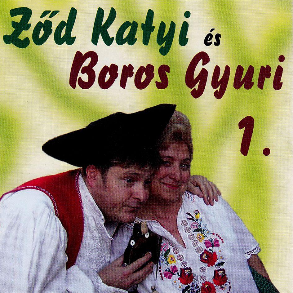 Ződ Katyi és Boros Gyuri CD
