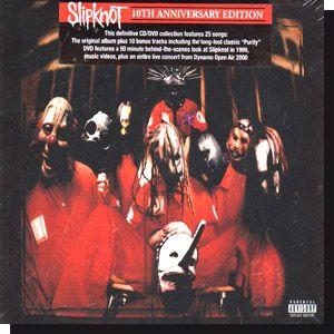 Slipknot: 10 th anniversary Edition+DVD 2009 CD