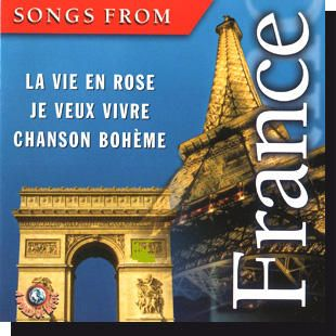 Songs from France (CD)