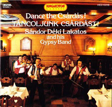 Déki Lakatos Sándor: Táncoljunk csárdást! (CD)