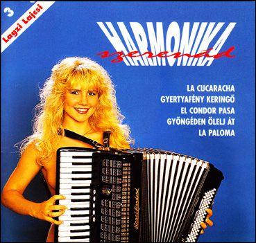 Lagzi Lajcsi: Harmonika szerenád (CD)