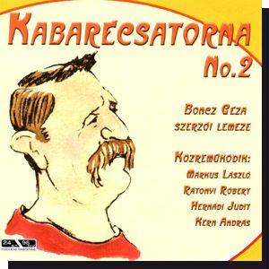 Boncz Géza: Kabarécsatorna No. 2 CD