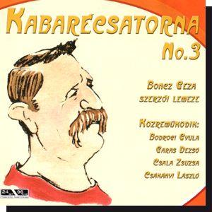Kabarécsatorna No. 3 CD