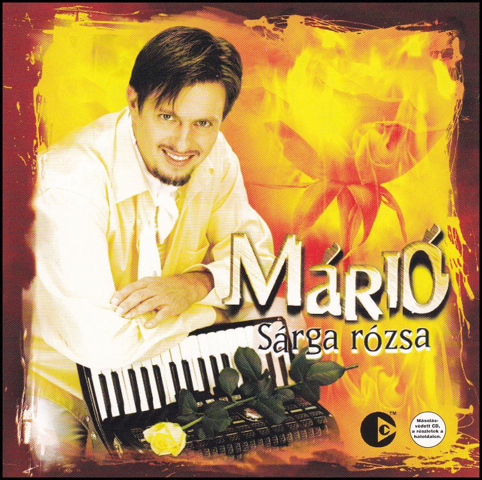 Márió: Sárga rózsa (CD)