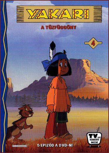 Yakari: A tűzfüggöny (DVD)