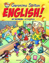 ENGLISH! At school - Az iskolában (könyv)