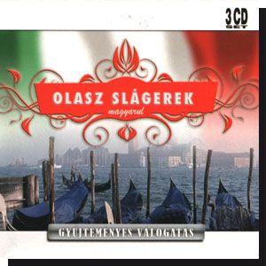 Olasz slágerek magyarul (3CD)