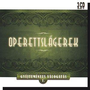 Operettslágerek: Gyűjteményes válogatás 1. (CD)