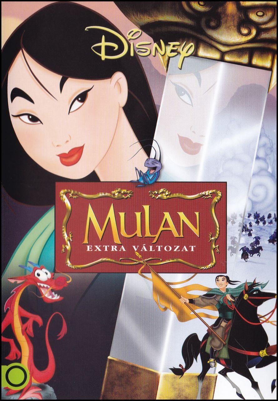 Mulan extra változat (DVD)