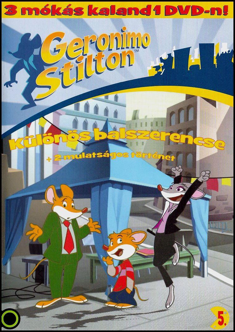 Geronimo Stilton Különös balszerencse (DVD)