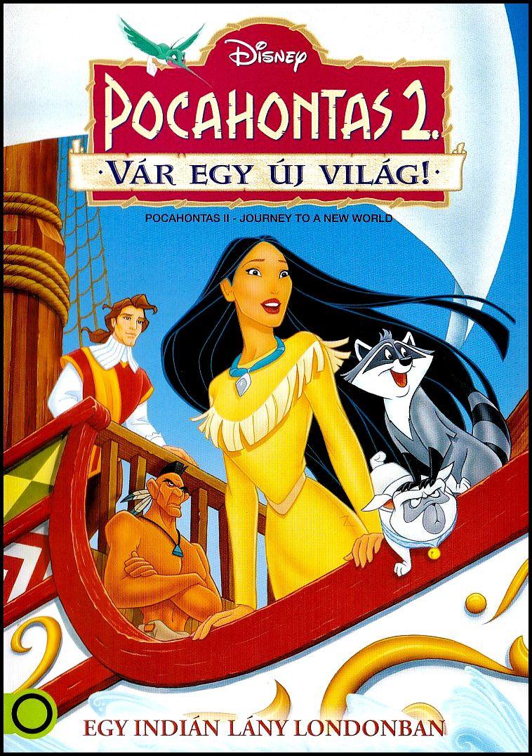 Pocahontas 2. Vár egy új világ! (DVD)