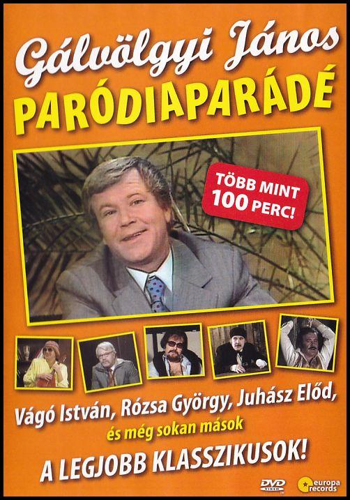 Gálvölgyi János Paródiaparádé (DVD)