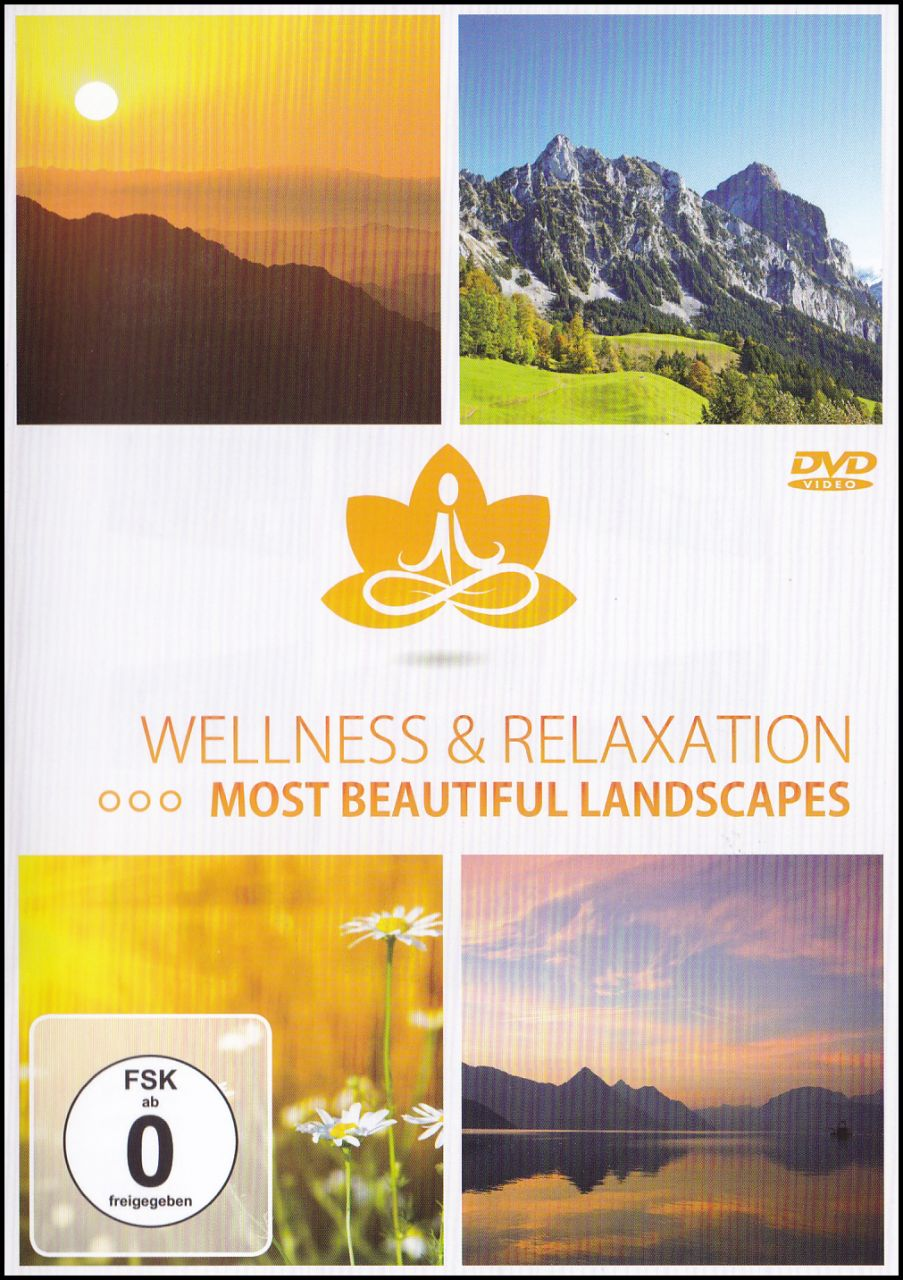 Wellness & Relaxation Most Beautiful Landscapes (DVD)