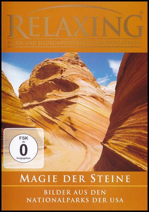 Relaxing - Musik und Bildkompositionen zum Wohlfühlen Magie Der Steine (DVD)