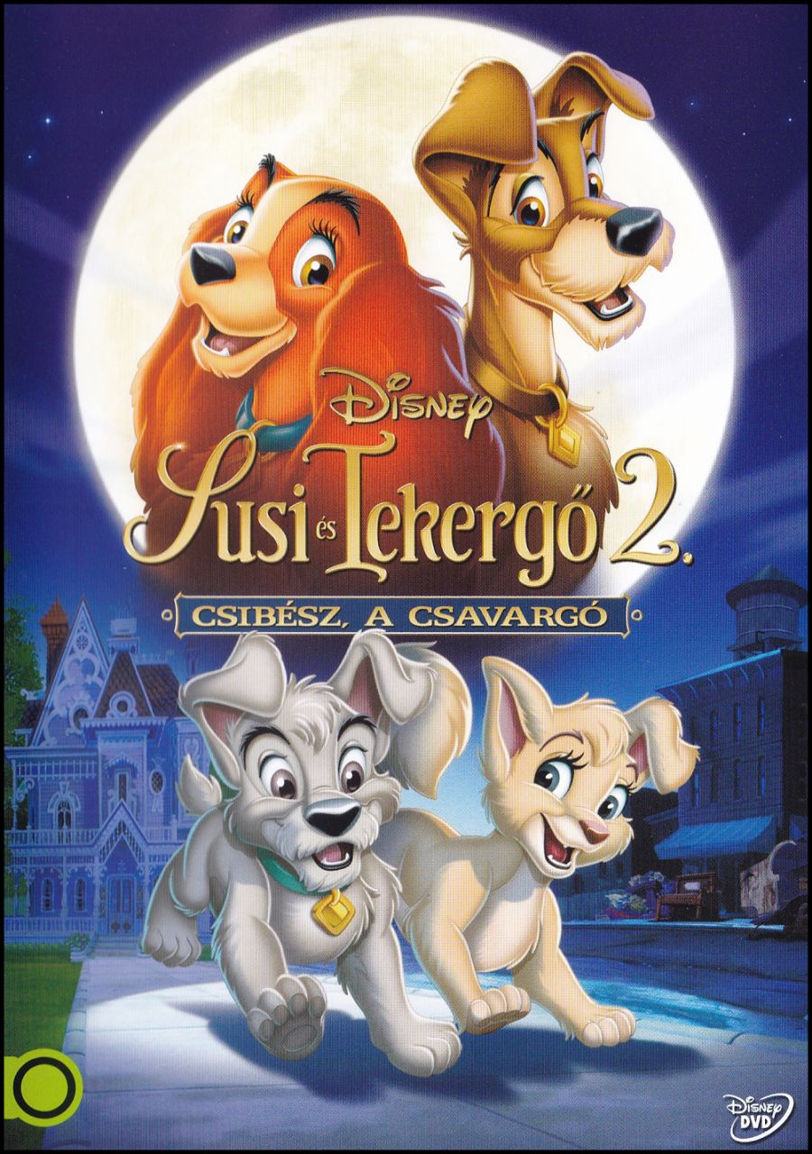 Susi és Tekergő 2. : Csibész, a csavargó (DVD)