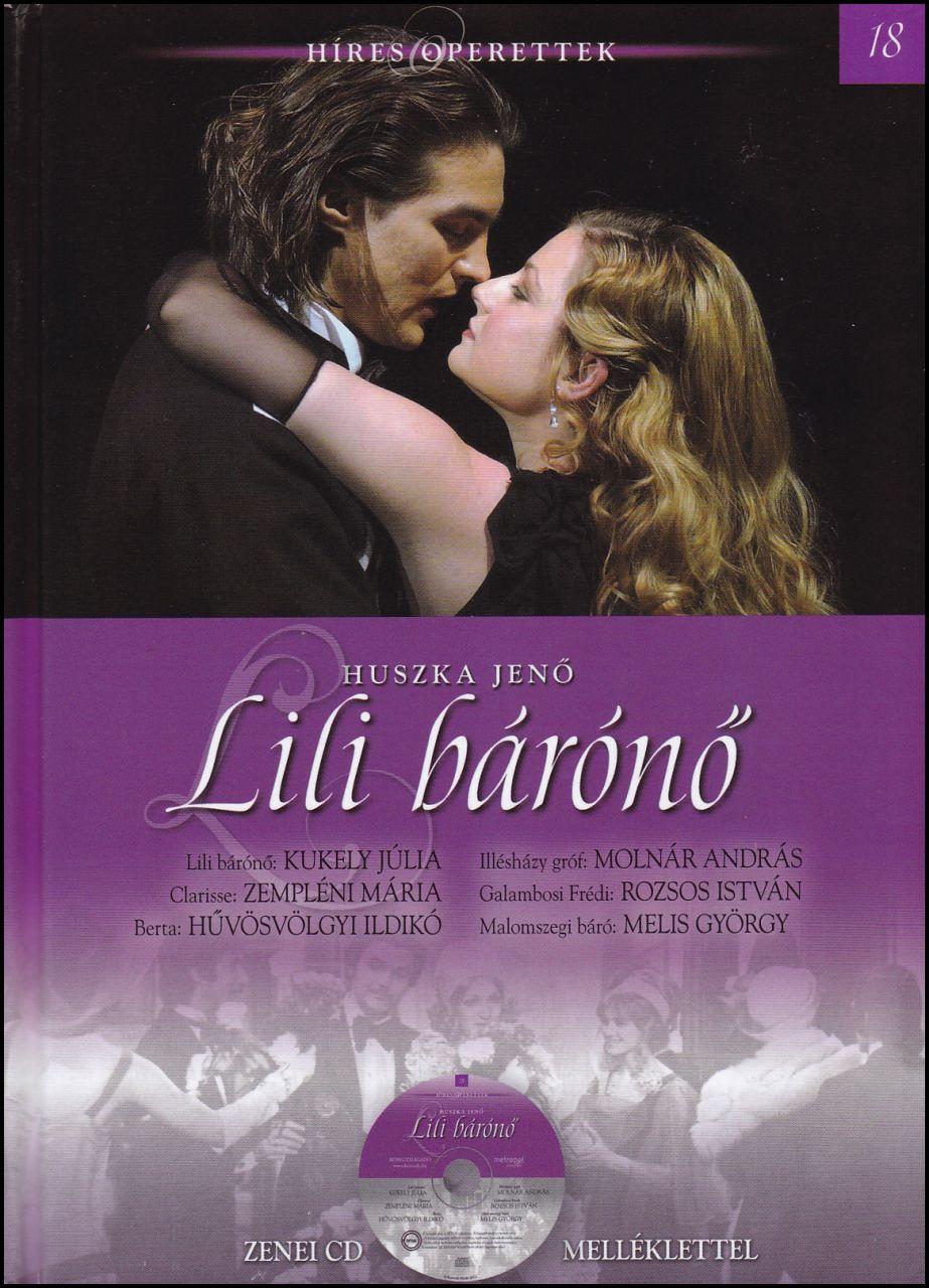 Lili bárónő - zenei CD melléklettel (könyv)