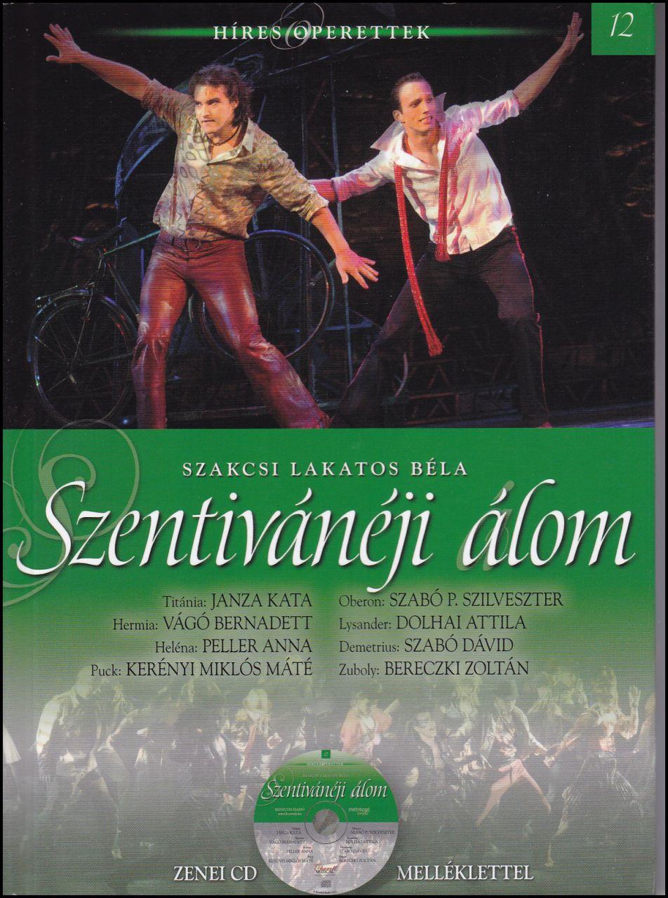 Szentivánéji álom - zenei CD melléklettel (könyv)
