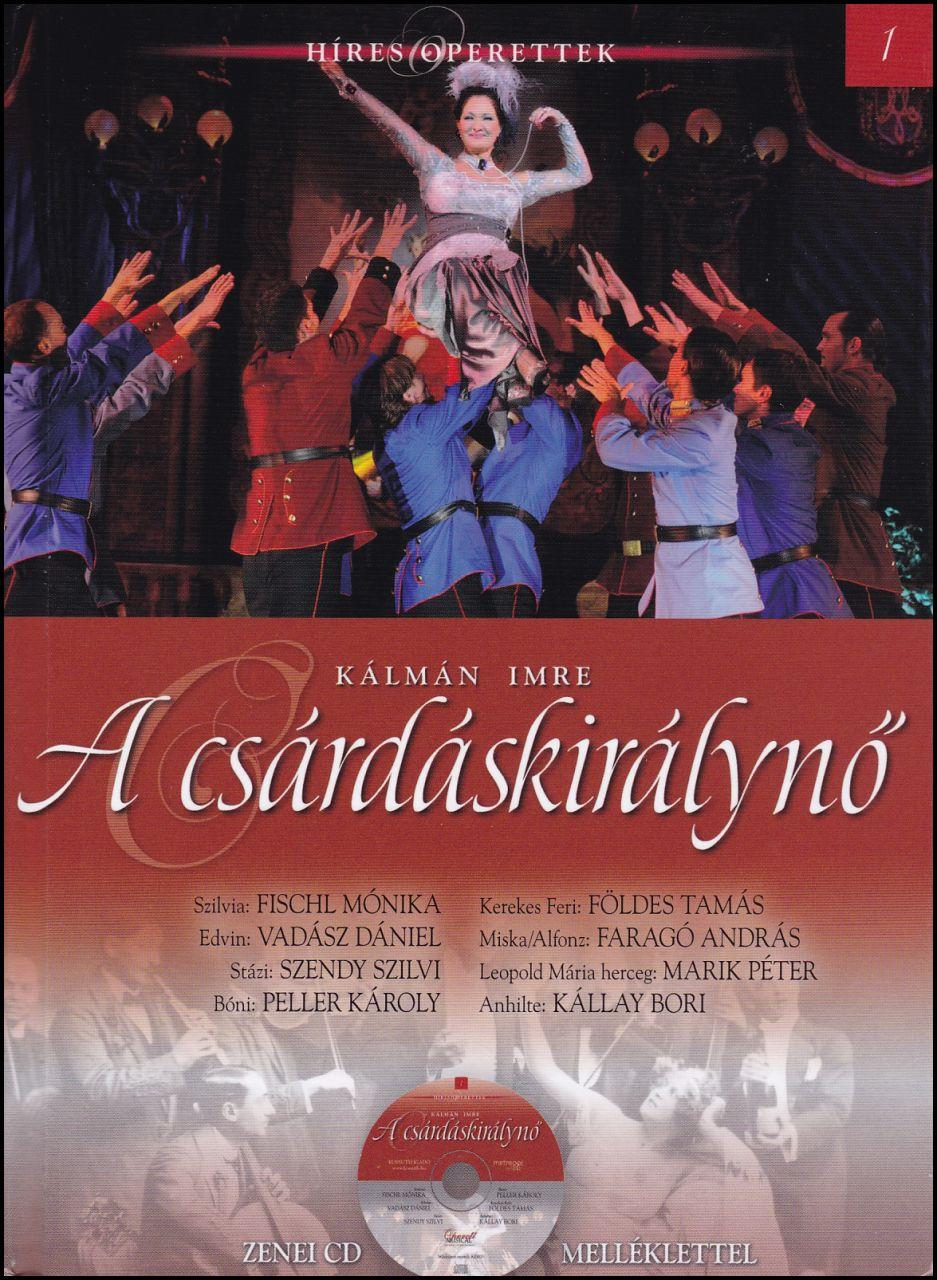 A csárdáskirálynő - zenei CD melléklettel (könyv)